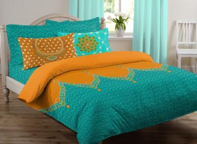Royal Home Cotton Polka Double Bedsheet