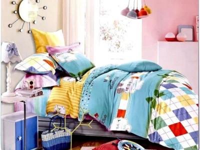 Zesture Cotton Abstract Queen sized Double Bedsheet
