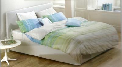 Esprit Cotton Self Design King sized Double Bedsheet