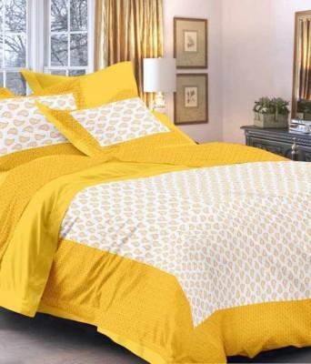 shop jaipuri rajasthani Cotton Printed King sized Double Bedsheet