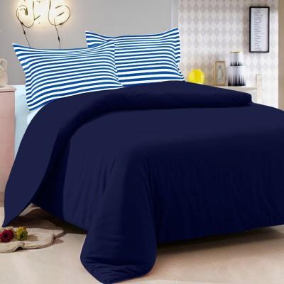 Vintana Cotton Plain Queen sized Double Bedsheet