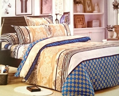 Jojo Designs Polycotton Abstract Queen sized Double Bedsheet