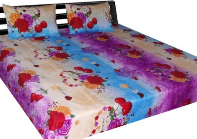 B&G Cotton Printed Double Bedsheet