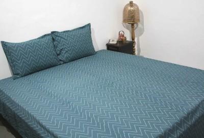RaghurajLifestyle Cotton Abstract Double Bedsheet