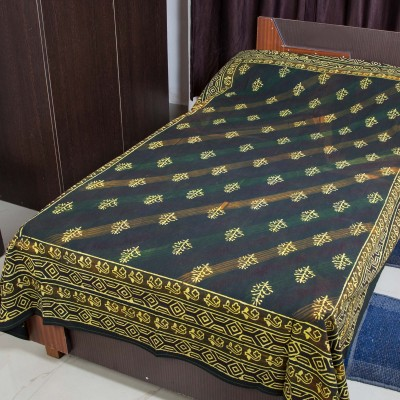 RK Raag Rang Cotton Motifs Single Bedsheet