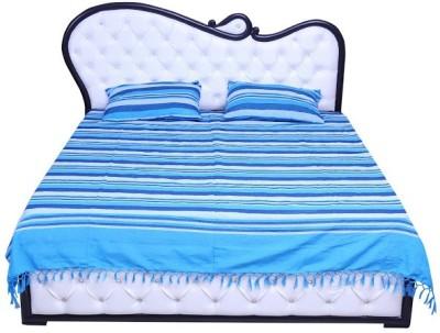 Desire Cotton Striped Double Bedsheet