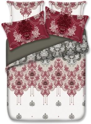 Birla Century Cotton Abstract King sized Double Bedsheet