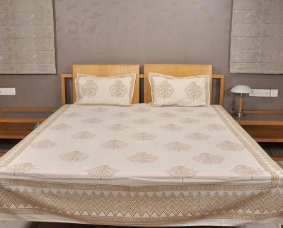 Rajrang Cotton Floral Double Bedsheet