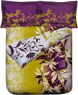 @home Floral Double Quilts & Comforters Multicolor