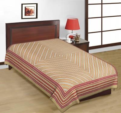 Shreeng Cotton Printed Single Bedsheet