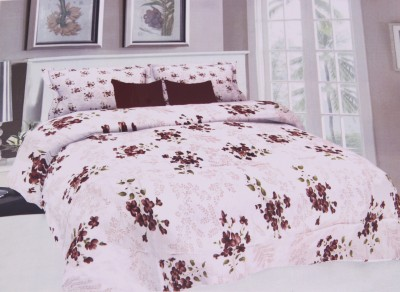 Cosy Cotton Floral Double Bedsheet