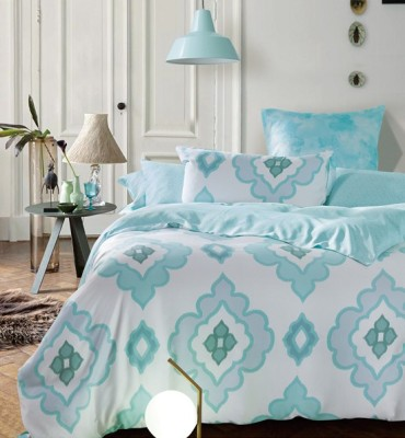 Sassoon Orro Cotton Motifs Queen sized Double Bedsheet