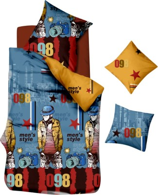 Kings Polycotton Abstract Queen sized Double Bedsheet