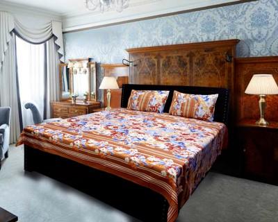 Fashion Polycotton Printed Double Bedsheet