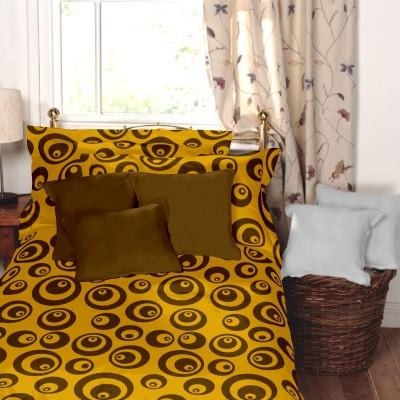 Dreamscape Cotton Printed Single Bedsheet