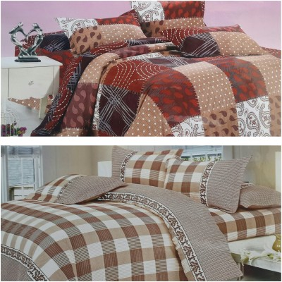 Life Like Cotton Floral Double Bedsheet