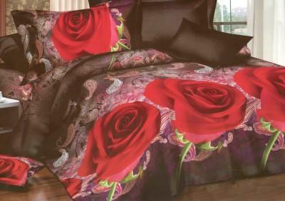 SurprizeMe Polycotton Floral Double Bedsheet