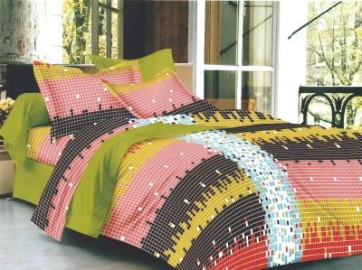 Pakeezah Cotton Abstract Double Bedsheet