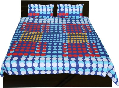 Urban Style Cotton Printed Double Bedsheet