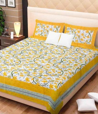 Bombay Spreads Cotton Printed Double Bedsheet