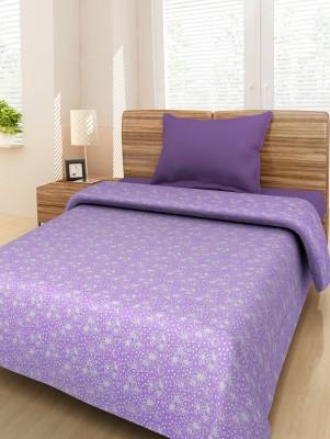 ShopSince Cotton Floral Single Bedsheet