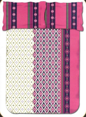 Kal Cotton Floral Double Bedsheet