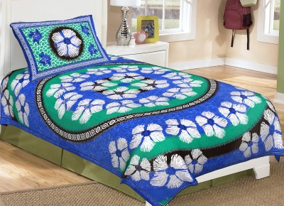Ayushi Craft & Fashions Cotton Printed Single Bedsheet