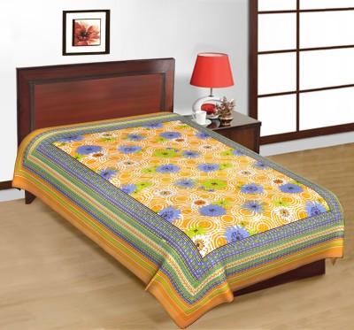 Priya Fashions Cotton Printed Single Bedsheet