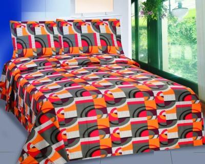 Mi Vida Cotton Printed Queen sized Double Bedsheet