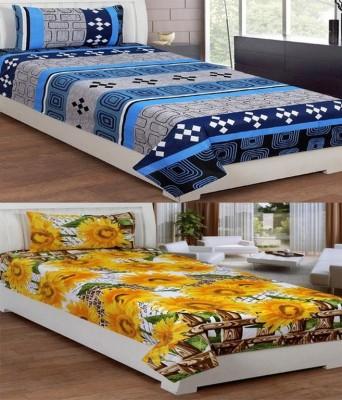 Supreme Home Collective Cotton Floral Single Bedsheet