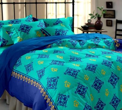 Home Ecstasy Cotton Abstract Double Bedsheet