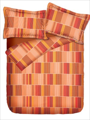 Pipal Cotton Checkered Double Bedsheet