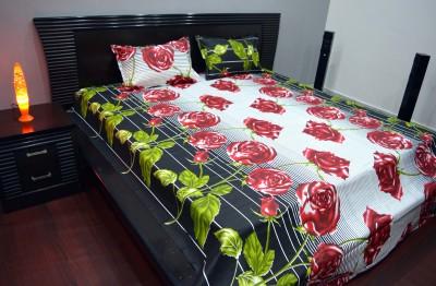 Human Cotton Printed Double Bedsheet