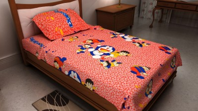The Home Ingredients Cotton Animal Single Bedsheet