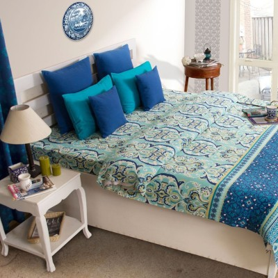 House This Cotton Paisley Double Bedsheet
