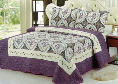 Serico Cotton Geometric Double Bedsheet