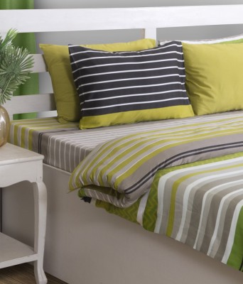 House This Cotton Abstract King sized Double Bedsheet