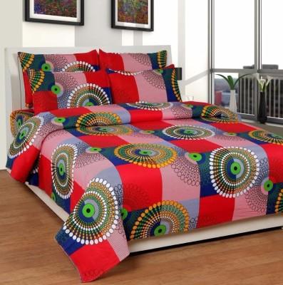 Sls Dreams Cotton Printed Double Bedsheet