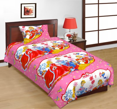 Jupiter Elite Cotton Cartoon Single Bedsheet