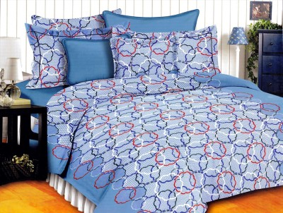 Georgia Cotton Abstract Double Bedsheet