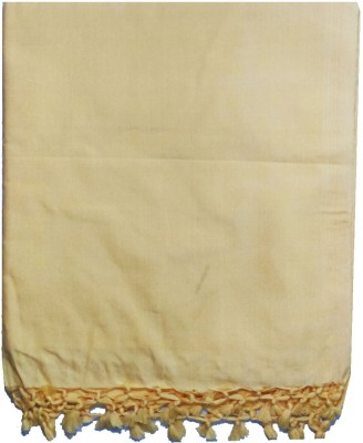 Anita Trade Cotton Silk Blend Plain Single Bedsheet