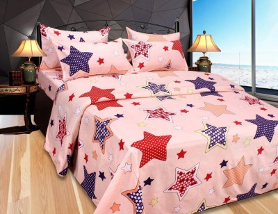 Mirchi Polycotton Printed Double Bedsheet