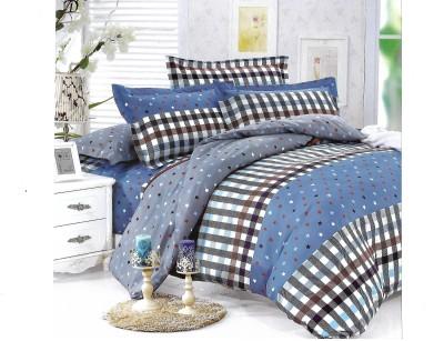 Sudesh Handloom Cotton Checkered Single Bedsheet