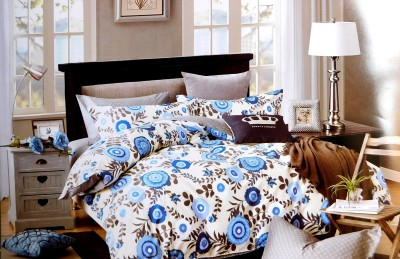 Indiano Cotton Floral King sized Double Bedsheet