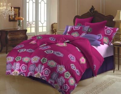 Arto Polycotton Floral Double Bedsheet