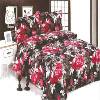 G & S ENTERPRISES Polycotton Floral Double Bedsheet