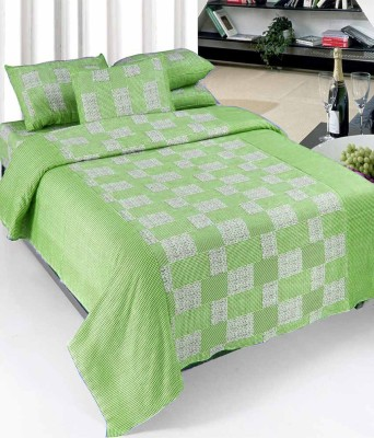 Vugis Cotton Abstract Double Bedsheet