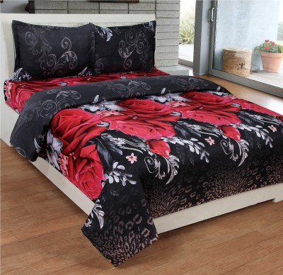 Kelly Polycotton Floral Double Bedsheet
