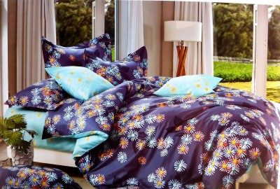 Indiano Polycotton Floral Double Bedsheet