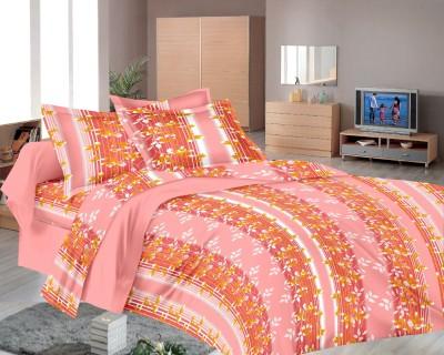 Richa Creation Cotton Floral Double Bedsheet